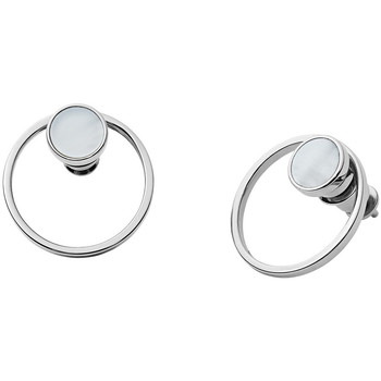 Montres & Bijoux Femme Boucles d'oreilles Skagen Boucles d'oreilles  en Acier Blanc