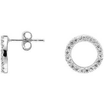 Montres & Bijoux Femme Boucles d'oreilles Arbelo Boucles d'oreilles  en Argent 925/1000 et Oxyde Blanc