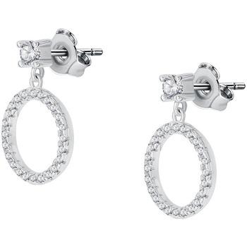 Montres & Bijoux Boucles d'oreilles Arbelo Boucles d'oreilles  en Argent 925/1000 et Oxyde Blanc