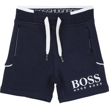Vêtements Garçon Shorts / Bermudas BOSS NOLLA Marine