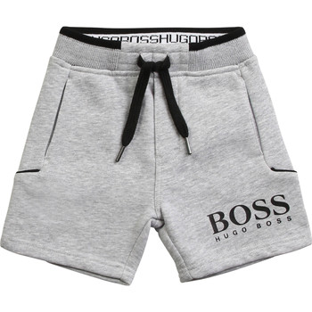 Vêtements Garçon Shorts / Bermudas BOSS J04M57-A32-B Gris