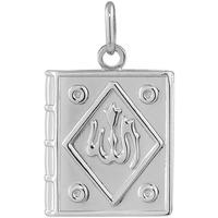 Montres & Bijoux Pendentifs Cleor Pendentif  en Argent 925/1000 Blanc