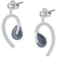 Montres & Bijoux Femme Boucles d'oreilles Cleor Boucles d'oreilles  en Céramique et Oxyde Blanc