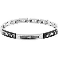 Montres & Bijoux Bracelets Zephyr Bracelet  en Acier Gris