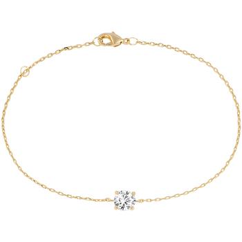 Montres & Bijoux Femme Bracelets Cleor Bracelet  en Plaqué Or et Oxyde Jaune