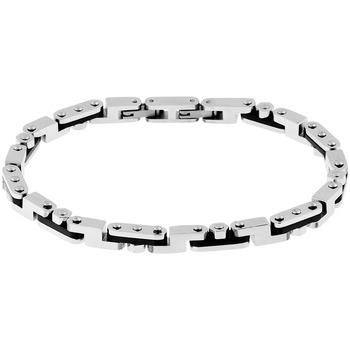 Montres & Bijoux Femme Bracelets Zephyr Bracelet  en Acier Gris