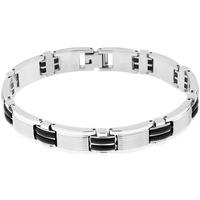 Montres & Bijoux Bracelets Cleor Bracelet  en Acier Blanc