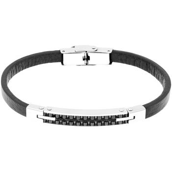 Montres & Bijoux Femme Bracelets Cleor Bracelet  en Acier Blanc