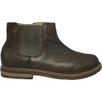 Chaussures Garçon Boots Pom d'Api Rétro jodzip marron