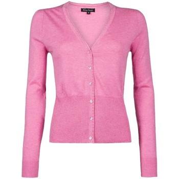 Vêtements Femme Gilets / Cardigans King Louie Cardigan Col V Cocoon Rosebloom Rose (rft) 38