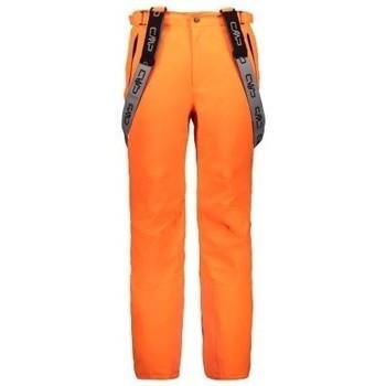 Vêtements Pantalons Cmp MAN SKI SALOPETTE ORANGE FLUO SALOPETTE 2022 ORANGE FLUO