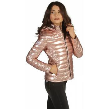 Vêtements Femme Doudounes Waxx Doudoune Femme Shelter effet brillant Rose Shiny