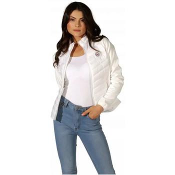 Vêtements Femme Doudounes Waxx Doudoune Femme Glasgow bi-matière Blanc