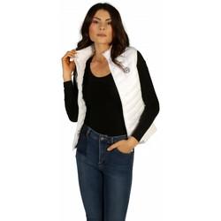 Vêtements Femme Doudounes Waxx Doudoune Femme Glasgow bi-matière sans manche Blanc