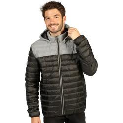 Vêtements Homme Doudounes Waxx Doudoune Homme Shelter bicolore Noir Réflective