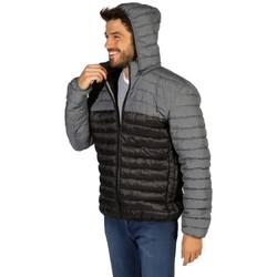 Vêtements Homme Doudounes Waxx Doudoune Homme Shelter bicolore Gris Sport