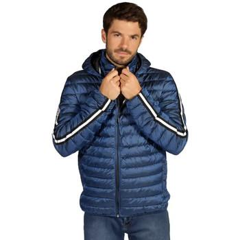 Vêtements Homme Doudounes Waxx Doudoune Homme Shelter Stripes Neo Bleu