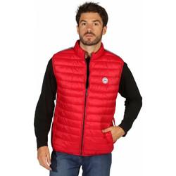 Vêtements Homme Doudounes Waxx Doudoune Homme sans manche Shelter Stripes Rouge