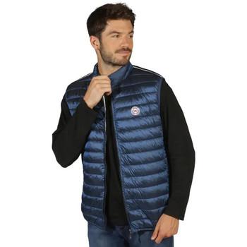 Vêtements Homme Doudounes Waxx Doudoune Homme sans manche Shelter Stripes Neo Bleu
