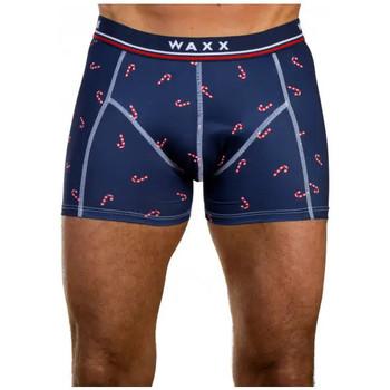 Sous-vêtements Homme Boxers Waxx Boxer SUCRE D'ORGES Bleu Marine