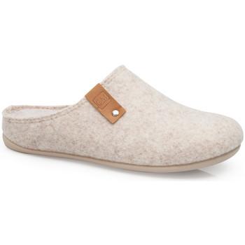 Chaussures Chaussons Calzamedi CHAUSSONS MAISON  E 6579 NOIR