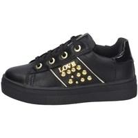 Chaussures Fille Baskets basses Asso AG-8602 NOIR