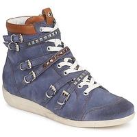 Chaussures Femme Baskets montantes Janet Sport MARGOT ISABEL Bleu
