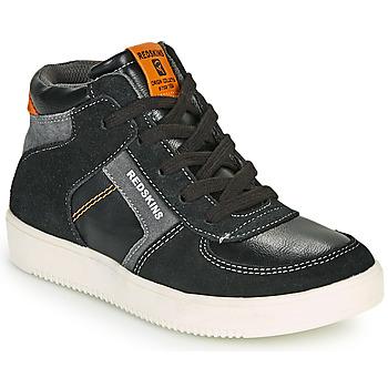Chaussures Garçon Baskets montantes Redskins LAVAL KID Noir / Anthracite