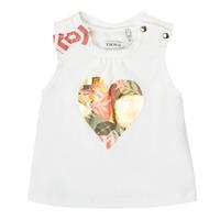Vêtements Fille Débardeurs / T-shirts sans manche Ikks COLINE Blanc