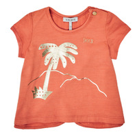 Vêtements Fille T-shirts manches courtes Ikks SILI Orange
