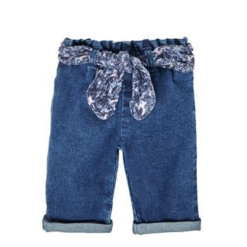 Vêtements Fille Jeans droit Ikks MANIA Bleu