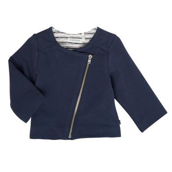 Vêtements Fille Gilets / Cardigans Ikks GILIA Marine