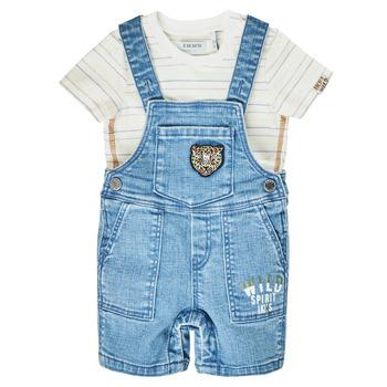 Vêtements Garçon Combinaisons / Salopettes Ikks ALINA Bleu