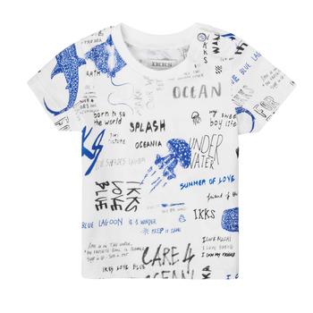 Vêtements Garçon T-shirts manches courtes Ikks AMIGA Multicolore