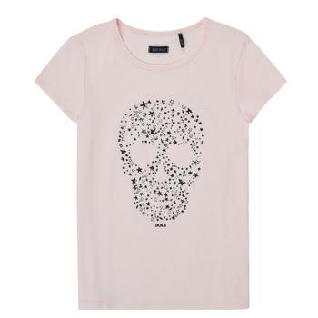 Vêtements Fille T-shirts manches courtes Ikks ZINANO Rose