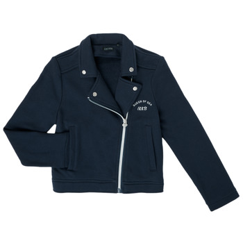 Vêtements Fille Gilets / Cardigans Ikks XS17072-48-J Marine