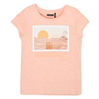 Vêtements Fille T-shirts manches courtes Ikks XS10332-32-C Rose