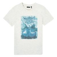 Vêtements Garçon T-shirts manches courtes Ikks SAMELIA Blanc