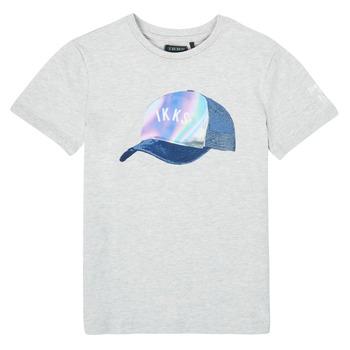 Vêtements Garçon T-shirts manches courtes Ikks XS10073-24-C Gris