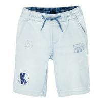 Vêtements Garçon Shorts / Bermudas Ikks JONAS Bleu