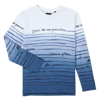Vêtements Garçon T-shirts manches longues Ikks BOLIFA Multicolore