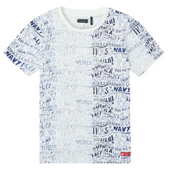 Vêtements Garçon T-shirts manches courtes Ikks XS10063-19-C Multicolore