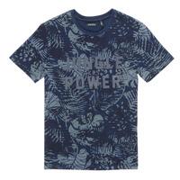 Vêtements Garçon T-shirts manches courtes Ikks SOLLILA Marine