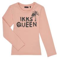 Vêtements Fille T-shirts manches longues Ikks POLAIDA Rose