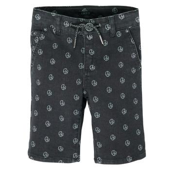 Vêtements Garçon Shorts / Bermudas Ikks TEMMA Noir