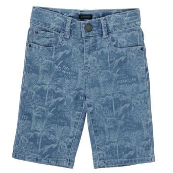 Vêtements Garçon Shorts / Bermudas Ikks SAMITA Bleu