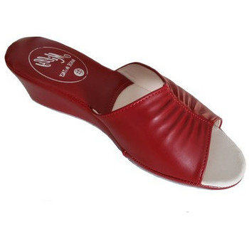 Chaussures Femme Mules Original Milly PANTOUFLE DE CHAMBRE MILLY - 1805 ROUGE rouge