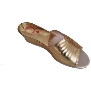 Chaussures Femme Mules Original Milly PANTOUFLE DE CHAMBRE MILLY - 1805 OR Doré