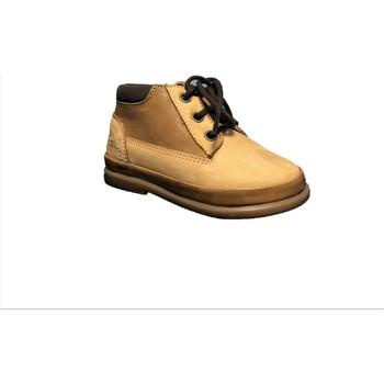Chaussures Garçon Boots Pom d'Api Fan-Fan Land Camel