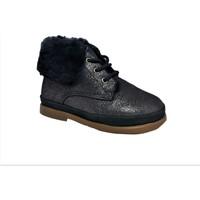 Chaussures Fille Bottes de neige Pom d'Api Fan-Fan Fur marine